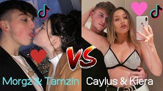 Morgz & Tamzin TikToks VS Caylus & Kiera TikToks