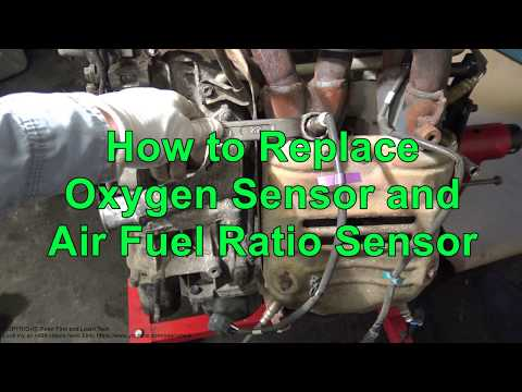 How to Replace Oxygen Sensor and Air Fuel Ratio Sensor