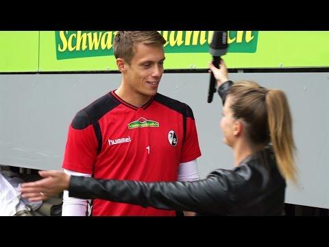 Coras erstes Date mit Speeddating-Gewinner Alexander Schwolow vom SC Freiburg | DASDING