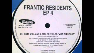 Matt Williams & Phil Reynolds - War On Drugs