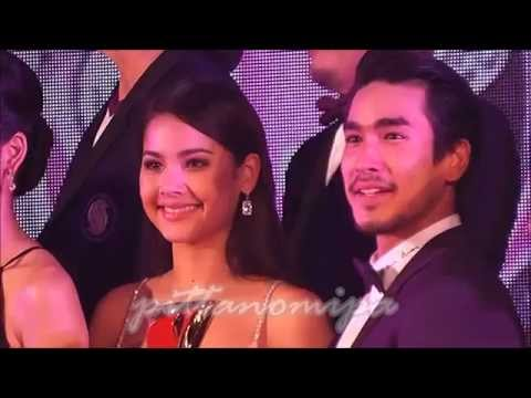 [HD] Nadech-Yaya /Some Cute Moments @ Siamdara Stars Awards 2015