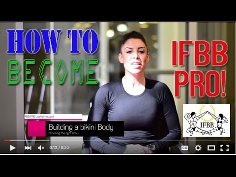 How To Become An Ifbb Pro Athlete International Federation Of Bodybuilding Fitness