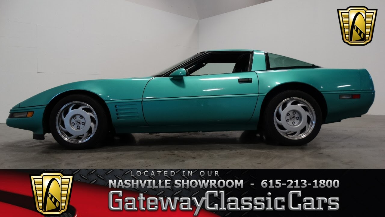 1991 Chevrolet Corvette ZR-1 - Gateway Classic Cars of Nashville #112