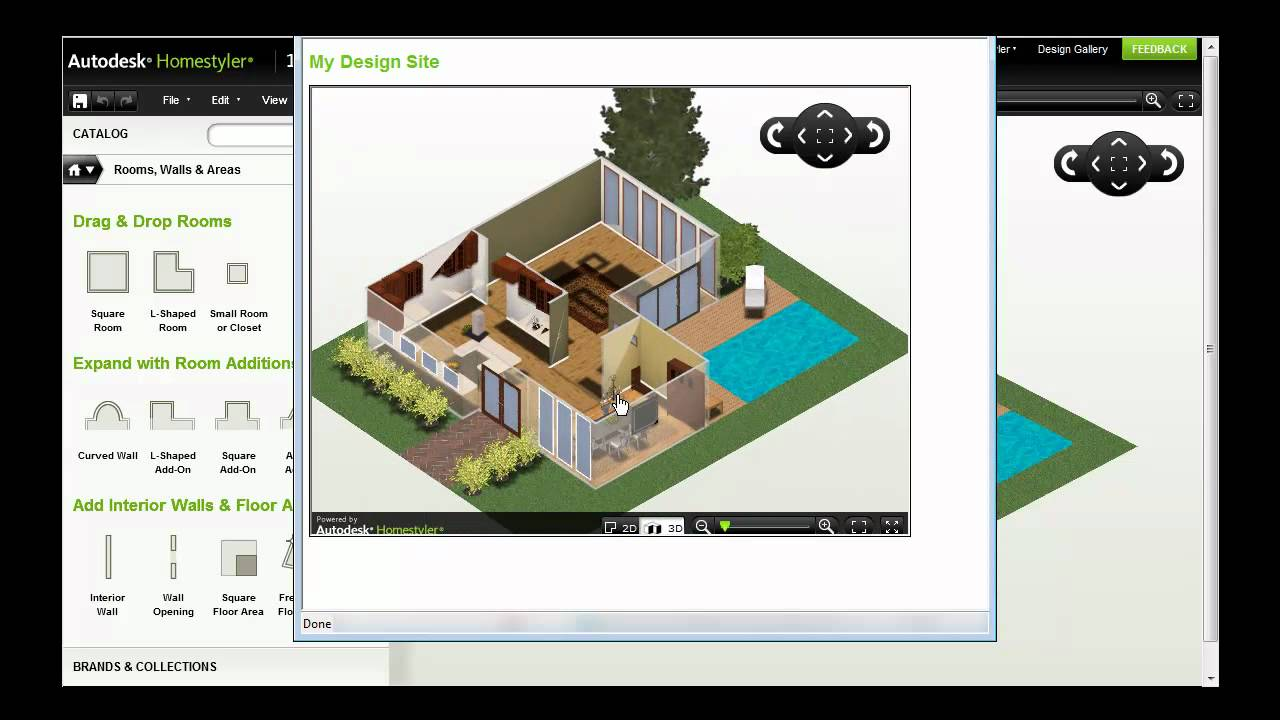 Autodesk Homestyler — Share Your Design - YouTube