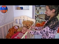 Влог Едем с  подарками в гости к подружке Видео для детей