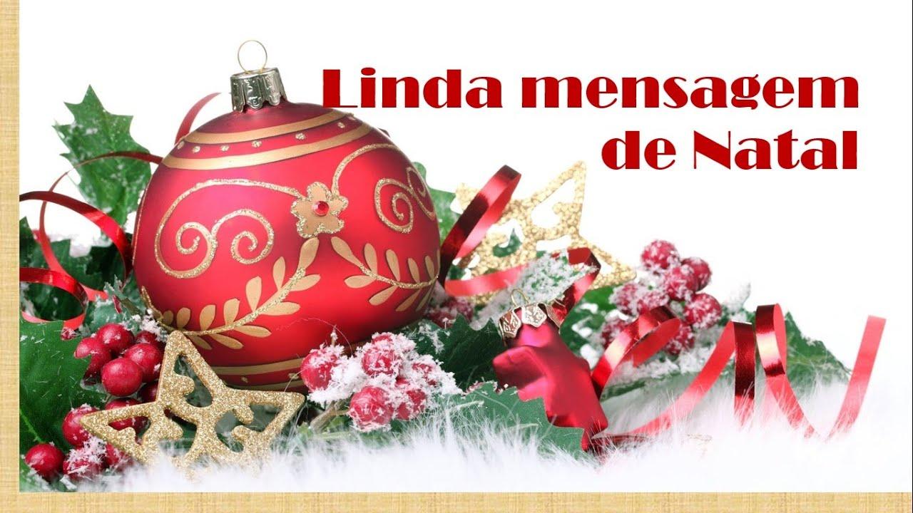 Linda Mensagem De Natal Para Sua Família E Amigos