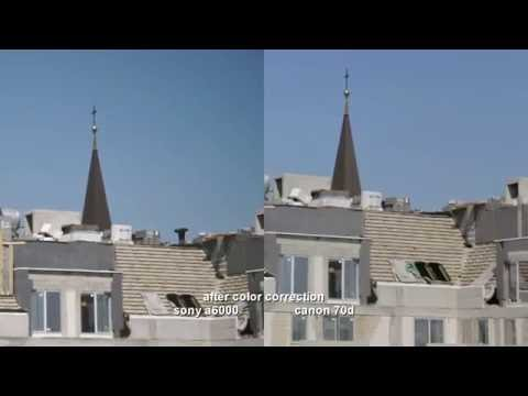 Canon 70D vs Sony A6000 - Skin Tones, Quality, Low Light - VIDEO TEST