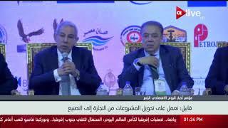 طارق قابيل: نعمل على تطوير الصناعة وتقليل عجز الميزان التجاري