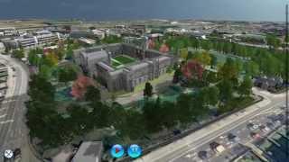 NUI Galway Virtual Campus demo
