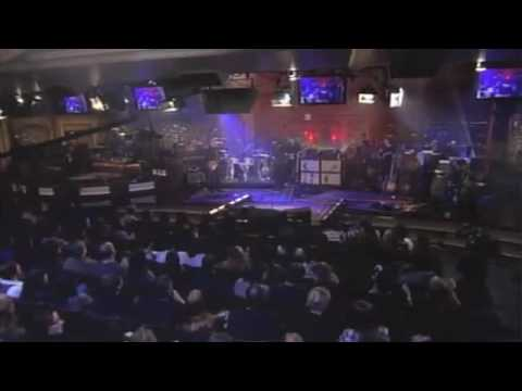 John Mayer   on Letterman111909  4 Crossroads