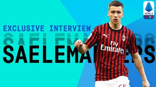 I Feel So Lucky To Play With Zlatan! | Alexis Saelemaekers | Exclusive Interview | Serie A TIM