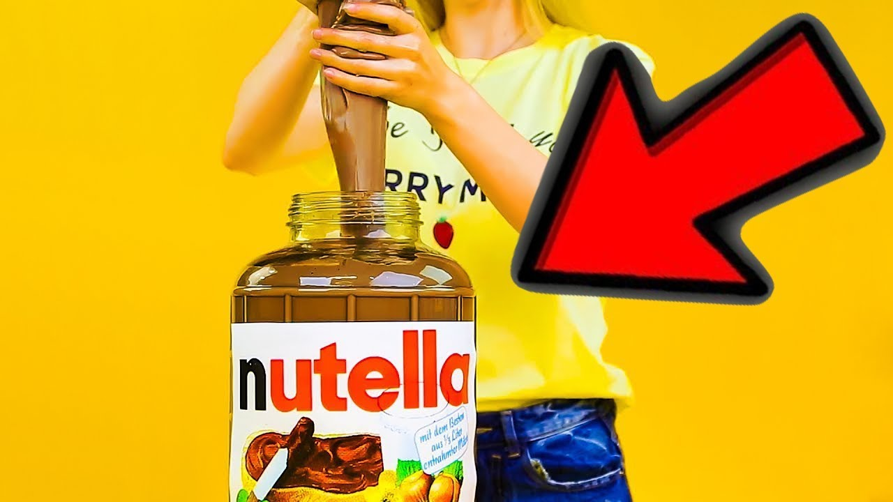 comment faire du slime avec du nutella youtube. Black Bedroom Furniture Sets. Home Design Ideas
