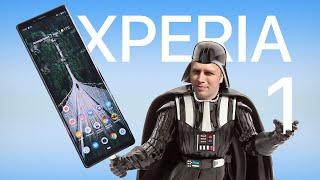 Распаковка Sony Xperia 1 Рядом с OnePlus 7 Pro и Galaxy S10+. Обзор Снят на 1 в Cinema Pro! Смартфон Sony как Выбрать