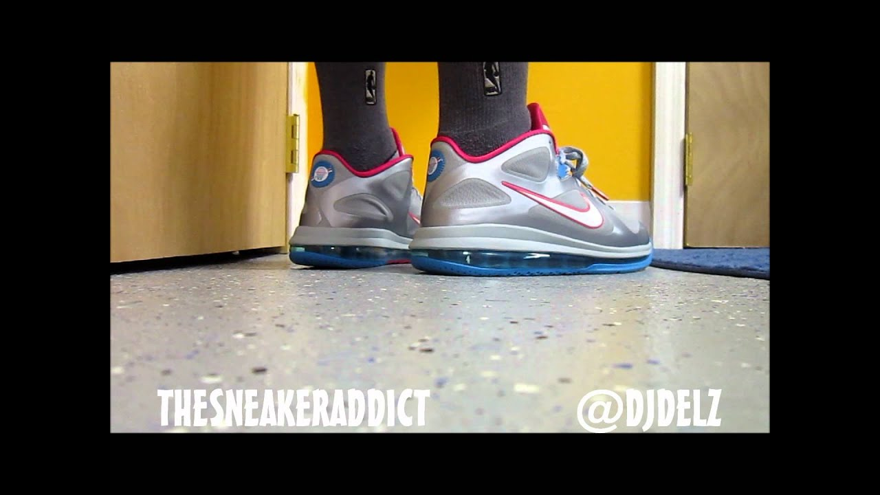 reputable site 7eaee a9e1c Nike Lebron 9 Low FireBerry Sneaker Review W   DjDelz Plus On Feet