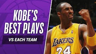 Download Kobe Bryant's BEST PLAY vs EVERY NBA TEAM In His Career! Mp3 and Videos