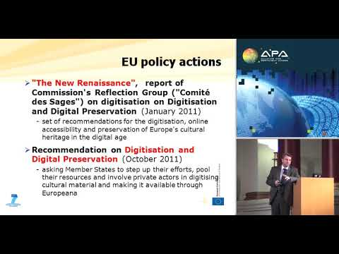 EU - funded Research on Digital Preservation
