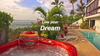Kona Shangrila Absolute Oceanfront Vacation Rental.