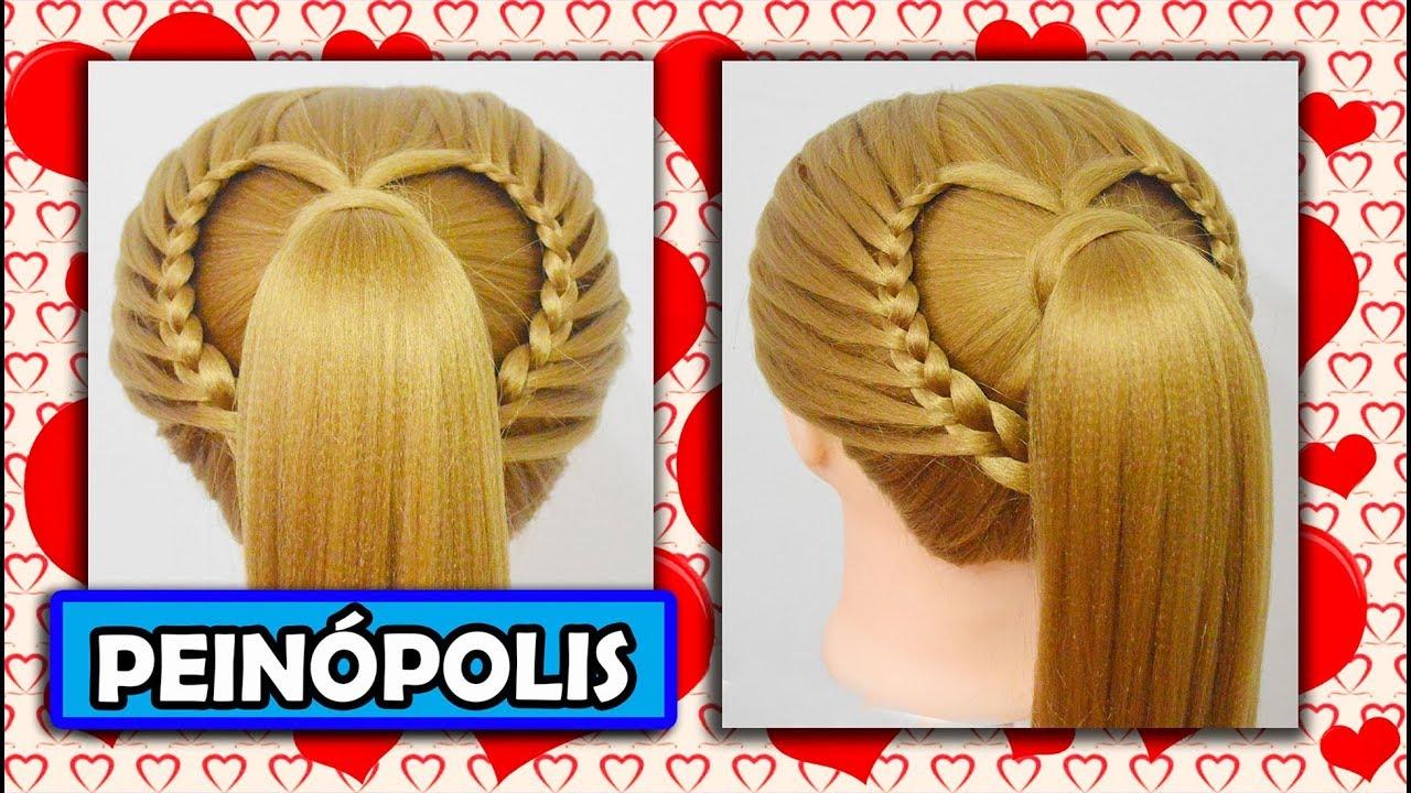 Peinados faciles y rapidos para ni a trenzas corazon - Peinados bonitos para ninas ...