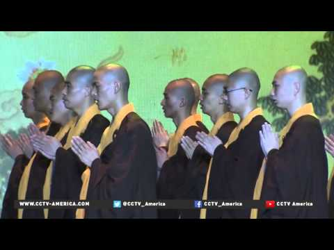 Buddhists from across the globe meet to discuss peace