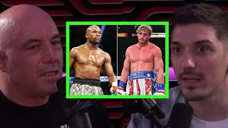 Rogan & Schulz on Floyd Mayweather vs  Logan Paul