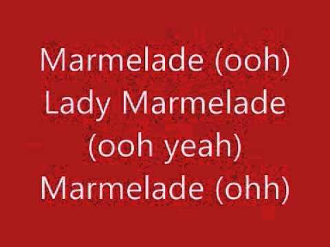 Christina Aguilera  Lil Kim  Mya  Missy Elliot  Pink   Lady Marmalade   Moulin Rouge   With Lyrics