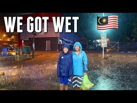 Tropical storms in Malaysia | Family travel vlog