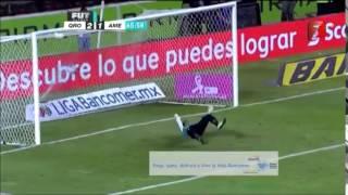 Queretaro 3-2 America LIGA Bancomer MX Apertura 2014 Jornada 14 Azteca 7