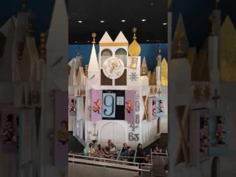 It's a Small World Clock Tower