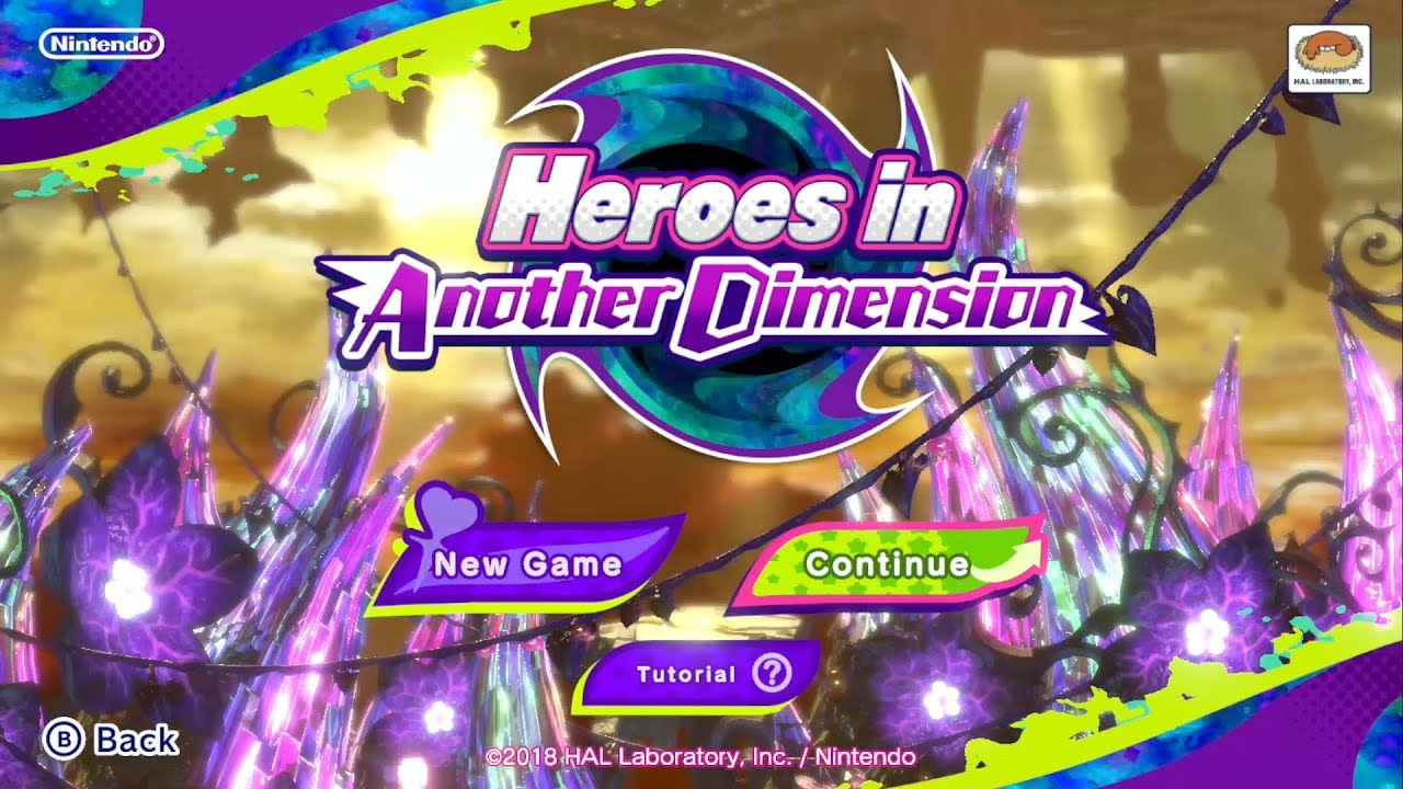 Kirby Star Allies: Heroes in Another Dimension - Dimension IV [30/30 Hearts]