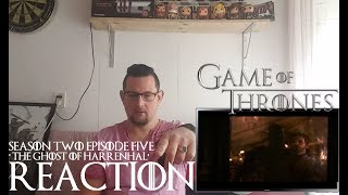 Game of Thrones 2x5 'The ghost of Harrenhal' REACTION CATCHING UP