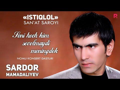 Sardor Mamadaliyev – 2012-yilgi konsert dasturi