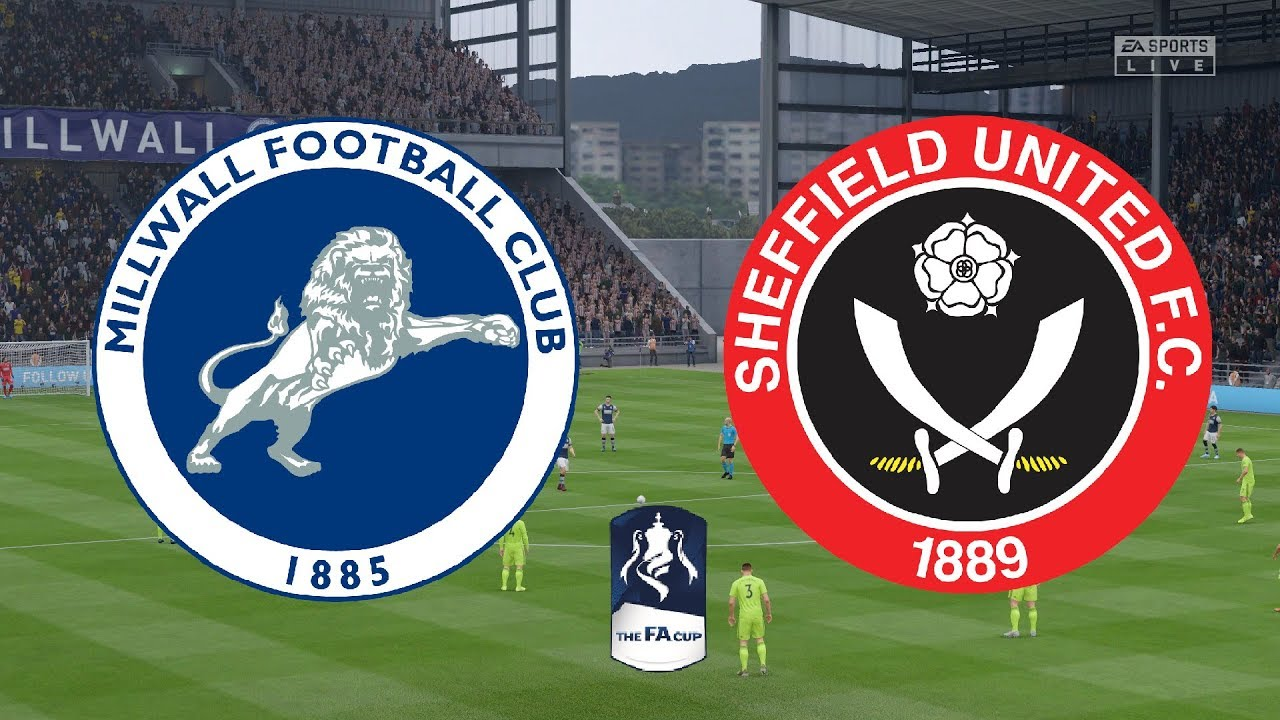 FA Cup 2020 4th Round - AFC Millwall Vs Sheffield United ...