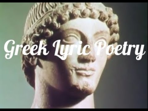 Greek Lyric Poetry:  Works of Sappho, Pindar, and Aeschylus