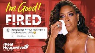 Kenya Moore Blasts RHOA Firing Rumors  |  Kandi And Nene Jump In