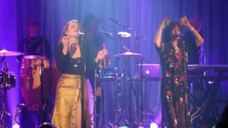 Nouvelle Vague 'Dancing With Myself' - BEST ONSTAGE DANCE EVER by Liset Alea & Élodie Frégé live!