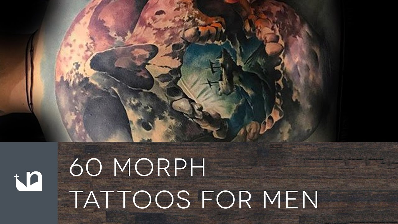 Lion Morph Tattoo: 60 Morph Tattoos For Men