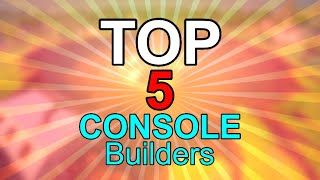 Top 5 Fortnite BUILDERS on Console (Builder Pro + Standard Builders)