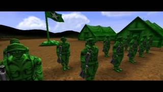 Play Army Men RTS Trailer And Mission 1 THE THIN GREEN LINE
