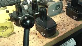 Ni Cad Battery Repair fix cordless drill like new dewalt