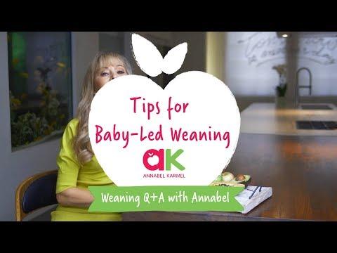 Annabel Karmel's Tips For Baby-Led Weaning