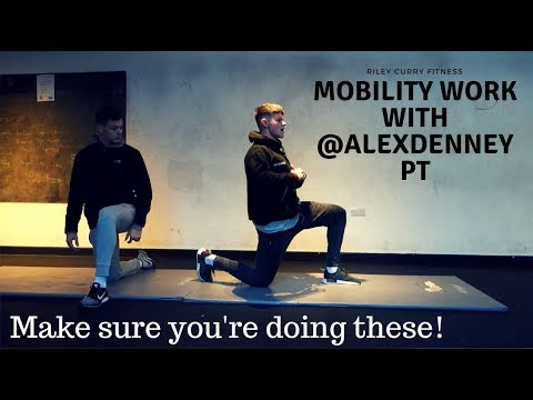 Beginners guide for stretching and mobility. Hampshire XT Day.