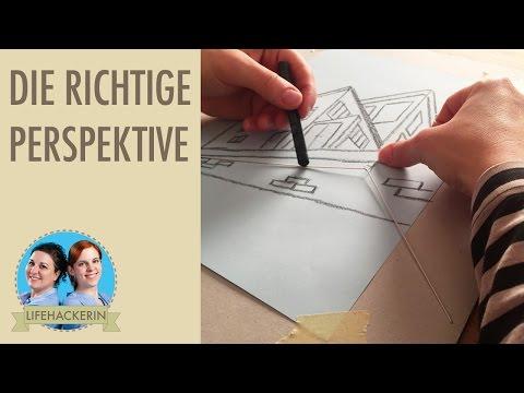 Perspektivisch zeichnen | Hilfsmittel