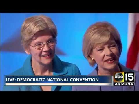 FULL: Barbara Mikulski & the Democratic Women of the Senate - Democratic National Convention