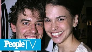 Sutton Foster Talks Working With (And Kissing!) Ex-Husband Christian Borle On 'Younger' | PeopleTV