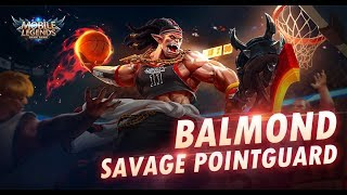 Mobile Legends Bang Bang Balmond New Skin Savage Pointguard Youtube