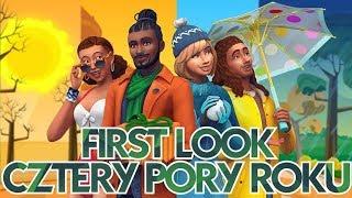 First Look I The Sims 4 CZTERY PORY ROKU - Cas + Tryb kupowania i budowania