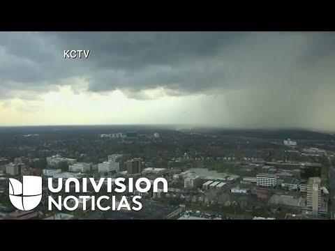 Alerta en Kansas City por fuertes tormentas
