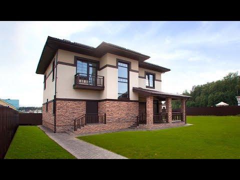 Красивый стильный дом с классной планировкой в поселке Солнечный Город