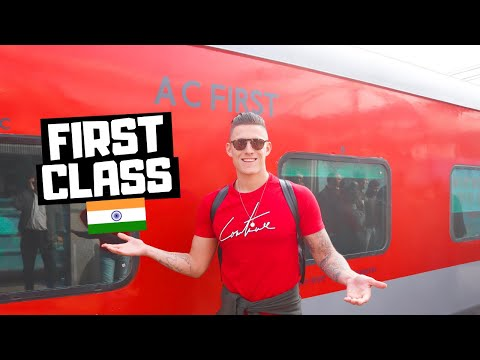 RAJDHANI Express, AC First Class | Agra to Delhi, Indian Railways