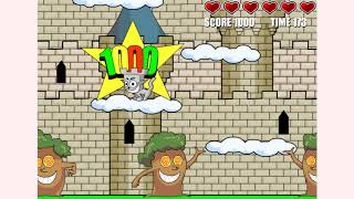 How to play Castle Cat game | Free online games | MantiGames.com